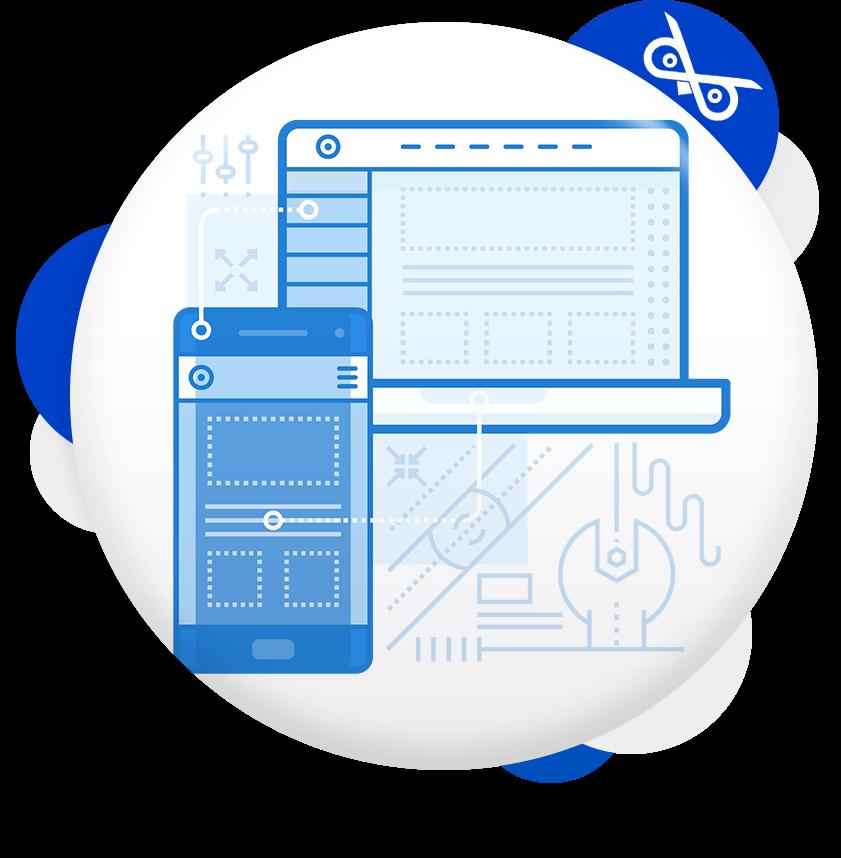 בנייה ופיתוח אתר תדמית