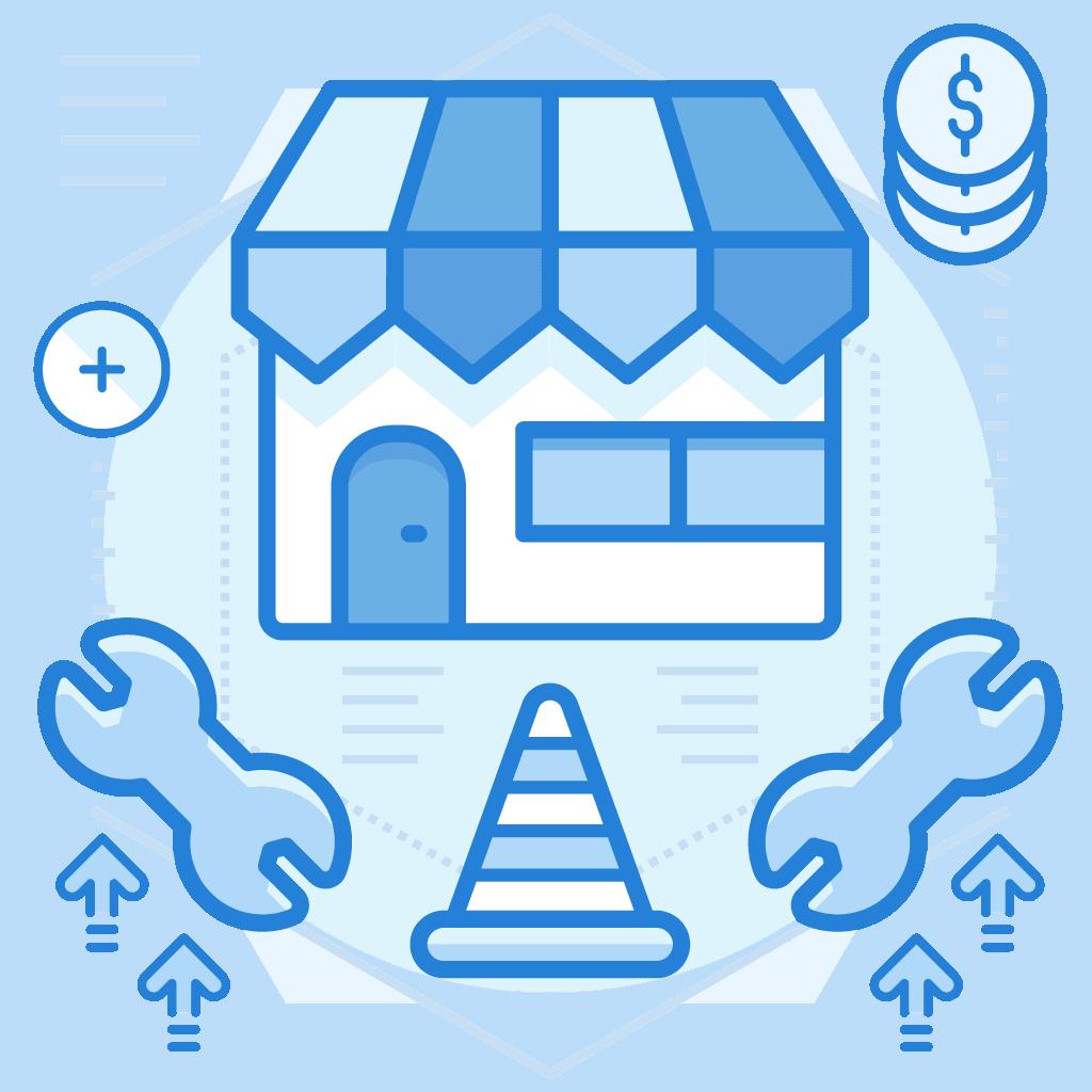 שירות עיצוב ופיתוח אתר מסחר