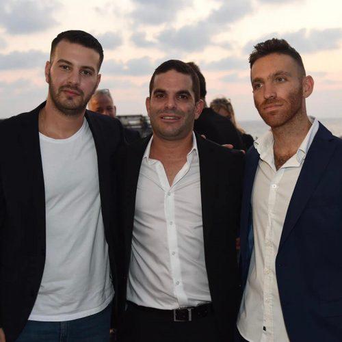 מייסדי Seedbiz דניאל קוגלר וניצן פלג יחד עם נועם חכמון מייסד Skillset